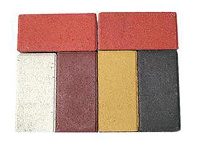 彩色面包砖