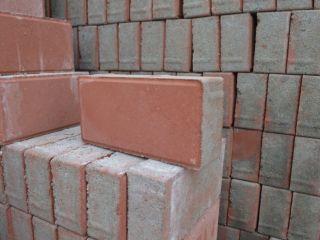 红色面包砖