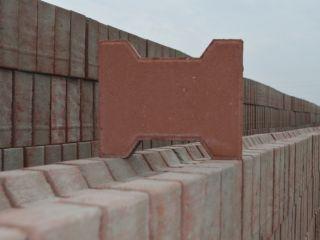 红色工字砖