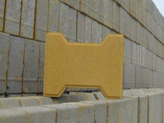 黄色工字砖